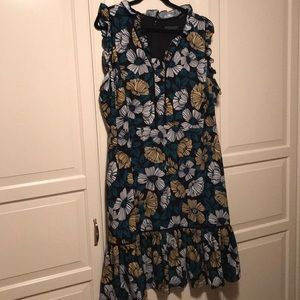 Eloquii Sleeveless Floral Dress - NWT